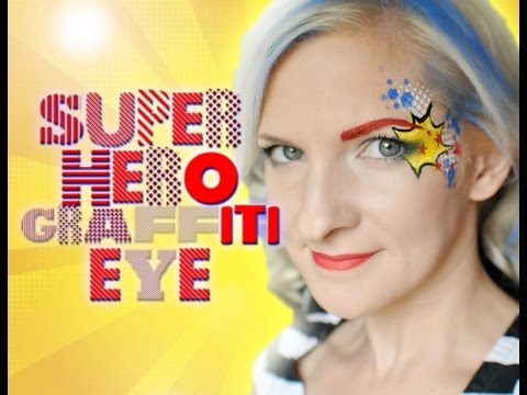 Book Graffiti Eye Makeup