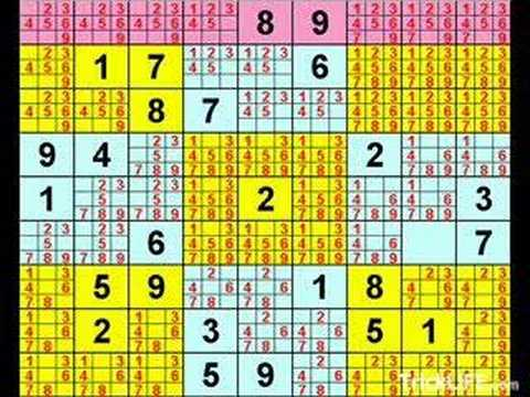 Tips on how to solve any sudoku puzzle