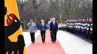 Ehrenbataillon - Amtsbeginn BundesprГsident Steinmeier