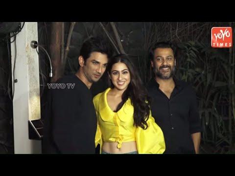 Sara Ali Khan And Sushant Singh Rajput Masti At Kedarnath Wrap Up Party  | Bollywood | YOYO Times