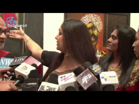 Rati Agnihotri At Art Exhibition Subraan By Raosaheb Gurav