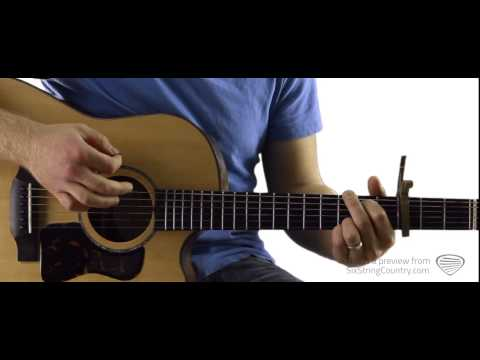 Kiss Me In The Dark - Guitar Lesson and Tutorial - Randy Rogers Band