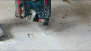 Posa connettore MINI CEM per solaio in latero cemento