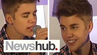 Justin Bieber 'As Long as You Love Me' Live acoustic in New Zealand - July 2012