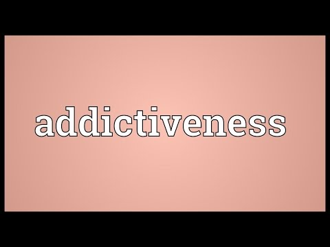 Header of Addictiveness