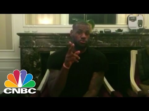 LeBron James Asks Warren Buffett for Investment Tips | CNBC