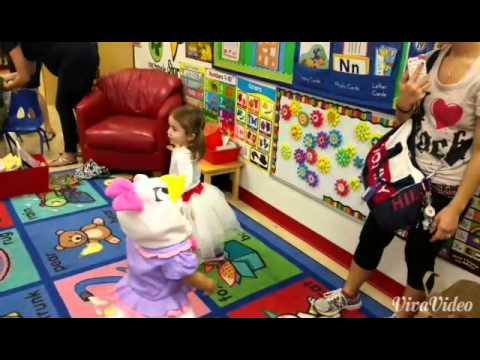 Lily preschool Halloween 2014