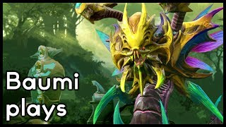 Dota 2 | THE PROS DO IT!! | Baumi plays Venomancer