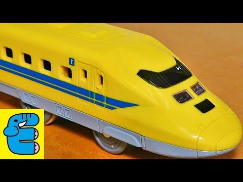 プラレールライト付923形ドクターイエローT4編成 Shinkansen Class 923 Doctor Yellow