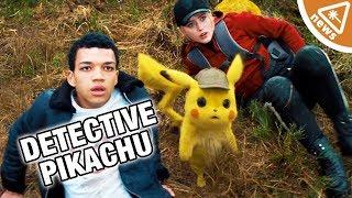 Did Fans Find Detective Pikachu's Villain in the Poster? (Nerdist News w/ Hector Navarro)