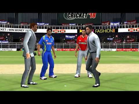 16th May IPL 11 Kolkata Knight Riders Vs Rajasthan Royals Real cricket 2018 mobile Gameplay