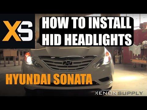 Hyundai Sonata HID - How t