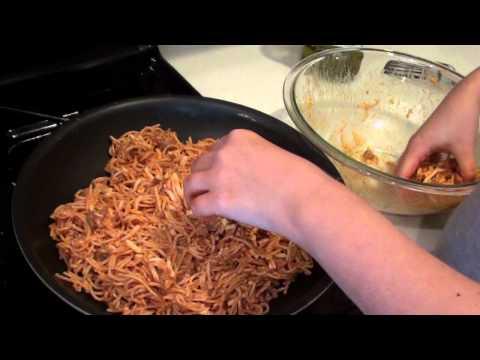 Pizza di Spaghetti Recipe (a recipe for leftover spaghetti)