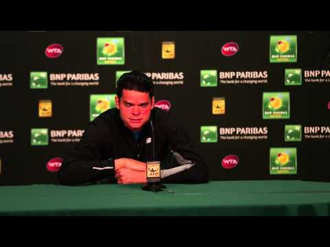 Milos Raonic Quarterfinal Press Conference