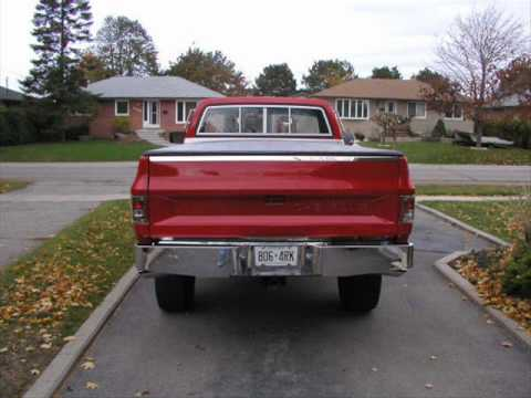 My 85 & 86 lifted Chevy K10 4x4s Video