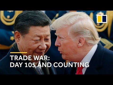 US-China trade war – day 105 and counting