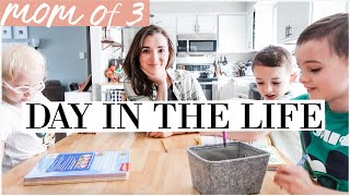 STAY AT HOME MOM ROUTINE IN ISOLATION | Activity + Meal ideas while SCHOOL IS CLOSED | DITL VLOG