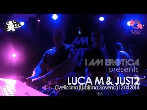 Luca M & Just2  Cvetlicarna - Slovenia (i Am Erotica Showcase) video
