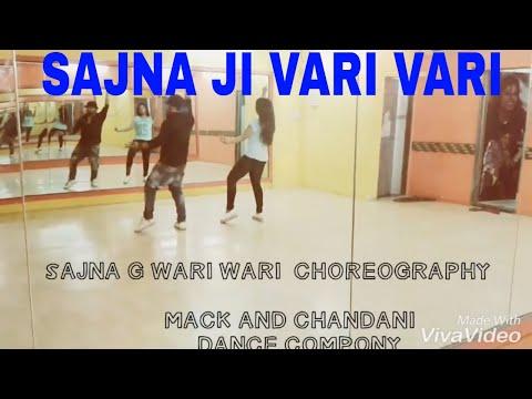 best Sajna ji vari vari dance  choreography by mack and chandani dance company  mumbai