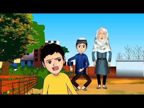 Sarfaraz falls down Abdul Bari Urdu Islamic Cartoons for children
