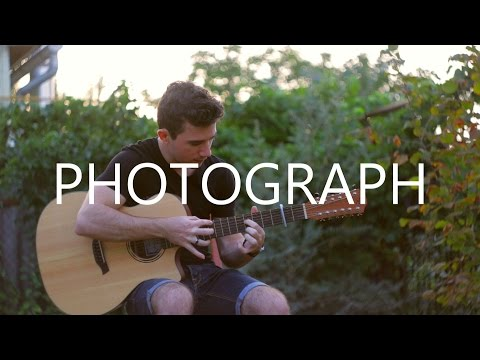 Photograph  Ed Sheeran 12string fingerstyle guitar   Peter Gergely