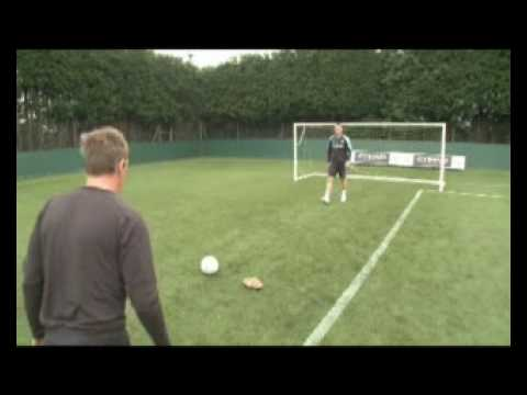 Shay Given & Les Chapman penalty shoot out