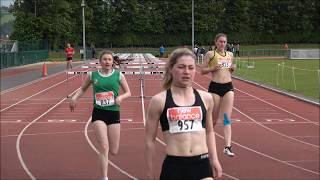 2017 Munster T & F Championships 100m Hurdles & Race Walks