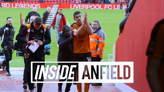 Inside Anfield: Liverpool 1-2 Wolves   Tunnel Cam