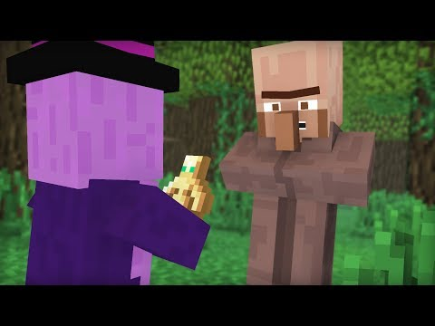 Witch & Villager Life IV - Minecraft Animation