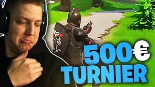 500 Euro Sniper Turnier in Fortnite | SpontanaBlack