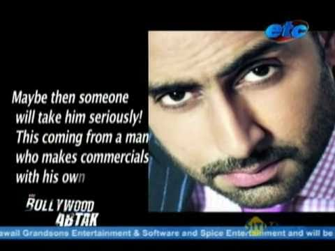 Abhishek Bachchan upset on Ad Guru Prahlad Kakkar's comments