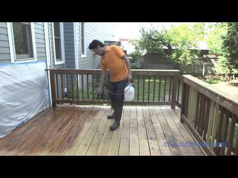This Old House Deck Restoration Using Rust-Oleum Restore