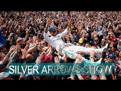 British GP   Crowd-surfing with the Silver Arrows at Silverstone