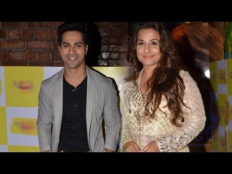 Varun Dhawan and Vidya Balan at the Radio Mirchi Awards | Bollywood News