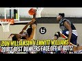 Zion Williamson v Emmitt Williams: 2018's BEST Dunkers FACE OFF at BOTS! Game Highlights!