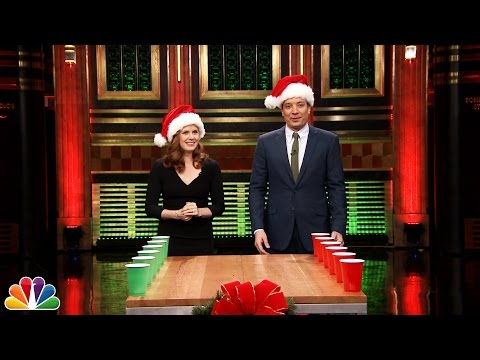 Holiday Flip Cup with Amy Adams