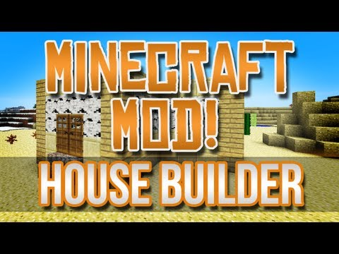 Minecraft Mod! - House Builder Block!