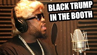 BLACK TRUMP IN THE BOOTH