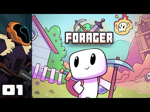 Let's Play Forager [Beta 5] - PC Gameplay Part 1 - Too Many Resources, So Little Time!
