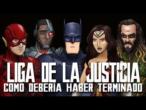 Como La Liga de La Justicia Debería Haber Terminado