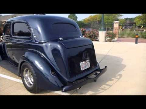 1936 ford sedan humpback youtube for 1935 ford 4 door sedan