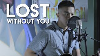download lagu Lost Without You- Robin Thicke  Angelo Molinos Cover gratis
