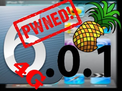 Jailbreak iOS 6.0.1 Deutsch iPod Touch 4g iPhone 3Gs iPhone 4