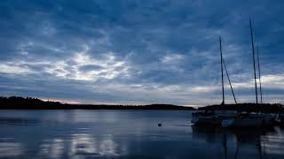 Short timelapse at lake Näsijärvi, Finland