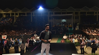 Ayushmann Khurrana at VIT Vellore | Paani Da | VIT Riviera 2017