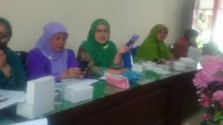 Nyanyian rukun iman ada enam, lagu kreasi FKG PAI TK Kabupaten Wonosobo