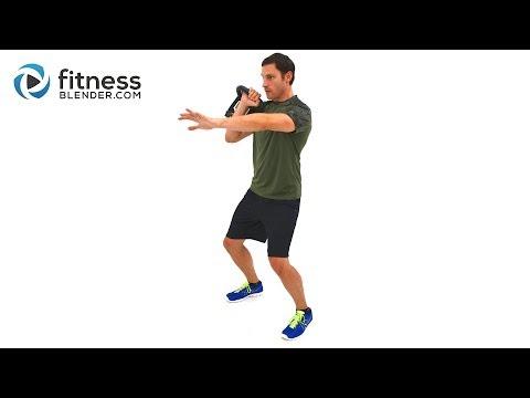 Upper Body Kettlebell Training for Strength - 30 Minute Kettlebell Workout Video Image 1