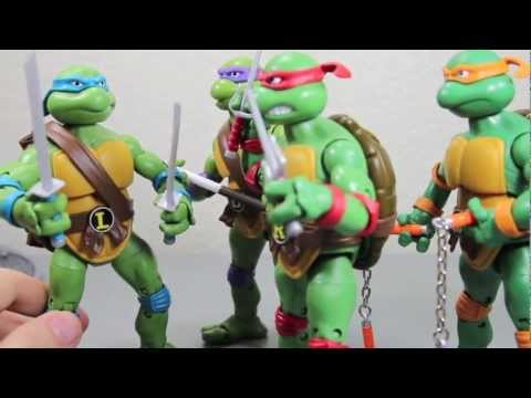 Teenage Mutant Ninja Turtles Classic Collection Leonardo, Raphael, Donatello & Michelangelo Review