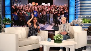 Ellen Surprises Deserving ESL Teacher