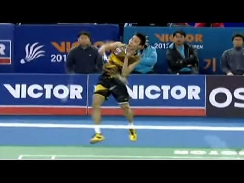 Finals - MS - Lee. C.W vs Lin D. - 2012 Victor Korea Open